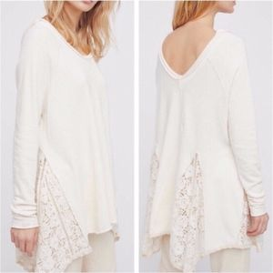 NEW Free People No Frills Pullover Sweater